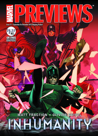 Marvel Previews October 2013 Extras