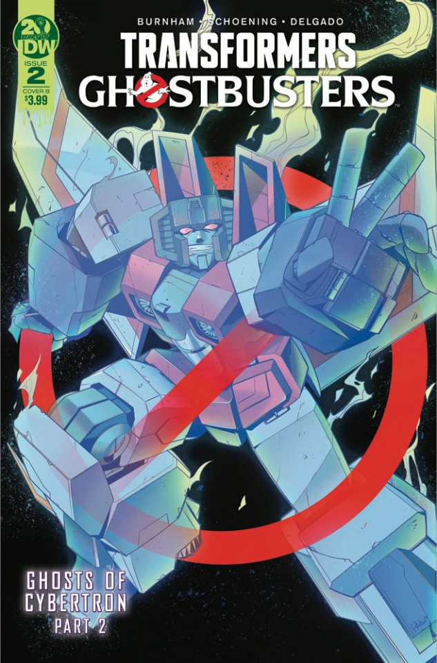 The Transformers / Ghostbusters #2 (Tramontano Cover)