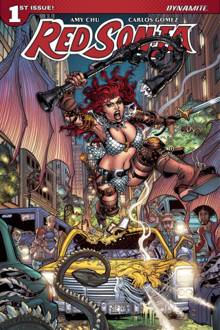 Red Sonja #1 (Bradshaw Cover)