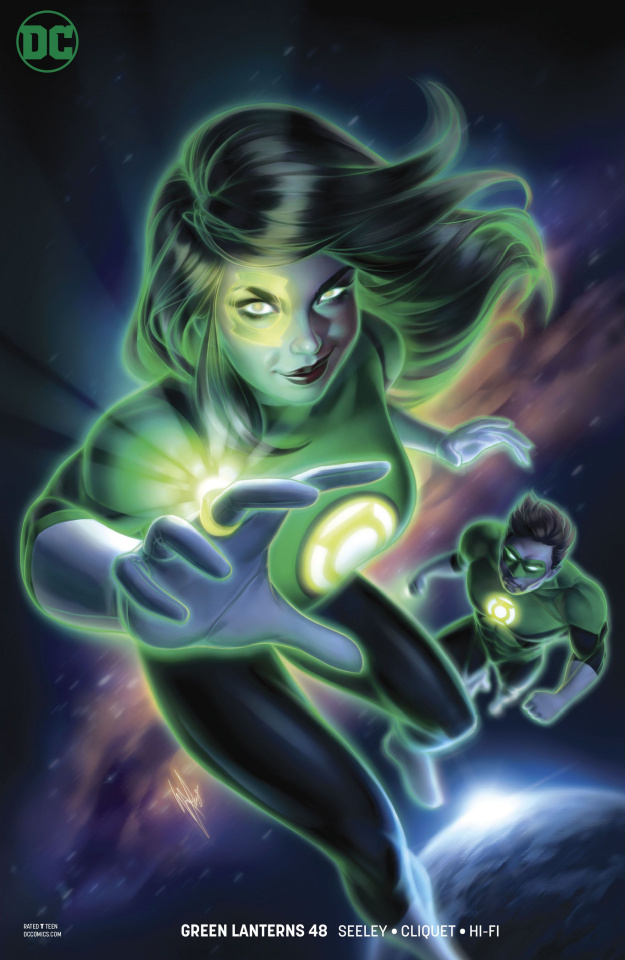 Green Lanterns #48 (Variant Cover)
