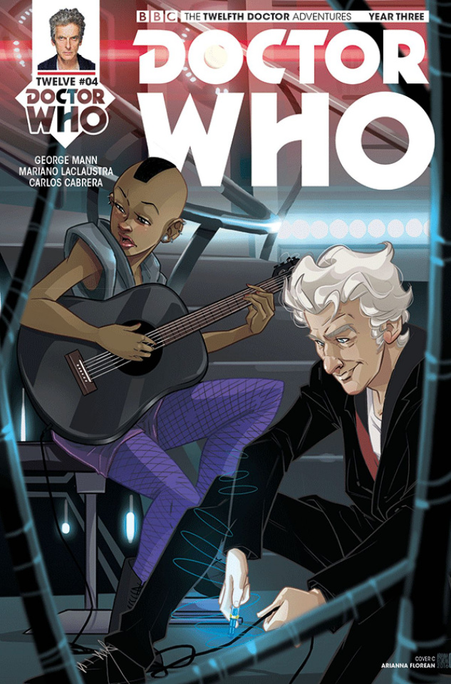 Doctor Who: New Adventures with the Twelfth Doctor, Year Three #4 (Florean Cover)