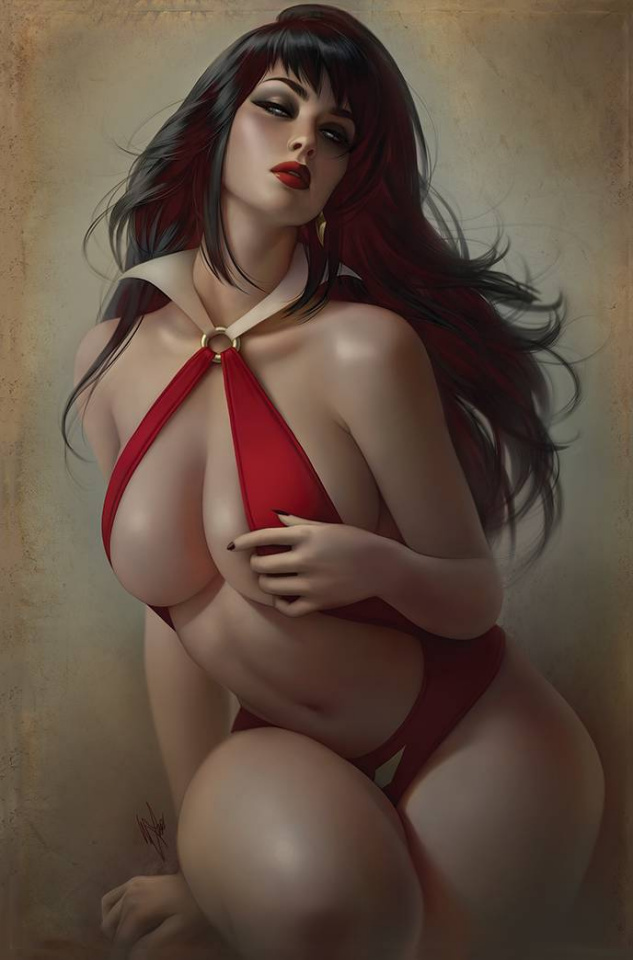 Vampirella #23 (30 Copy Louw Virgin Cover)
