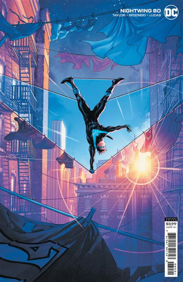 Nightwing #80 (Jamal Campbell Card Stock Cover)