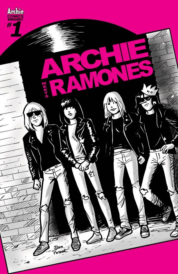 Archie Meets the Ramones (Dan Parent Cover)