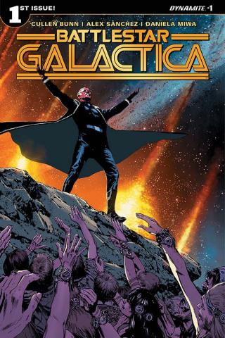 Battlestar Galactica #1 (Guice Cover)