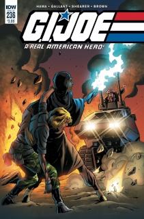 G.I. Joe: A Real American Hero #236