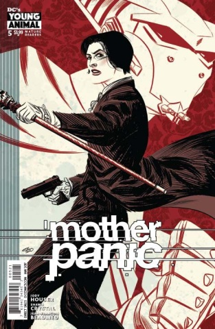 Mother Panic #5 (Variant Cover)