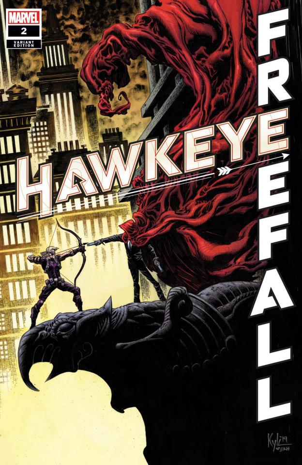 Hawkeye: Freefall #2 (Hotz Cover)