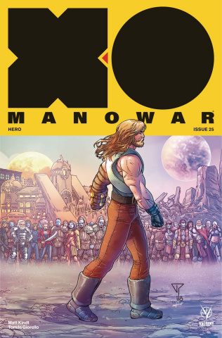 X-O Manowar #25 (20 Copy Portela Interlocking Cover)