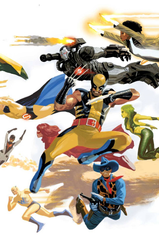 Avengers #8 (Avengers 50th Anniversary Cover)