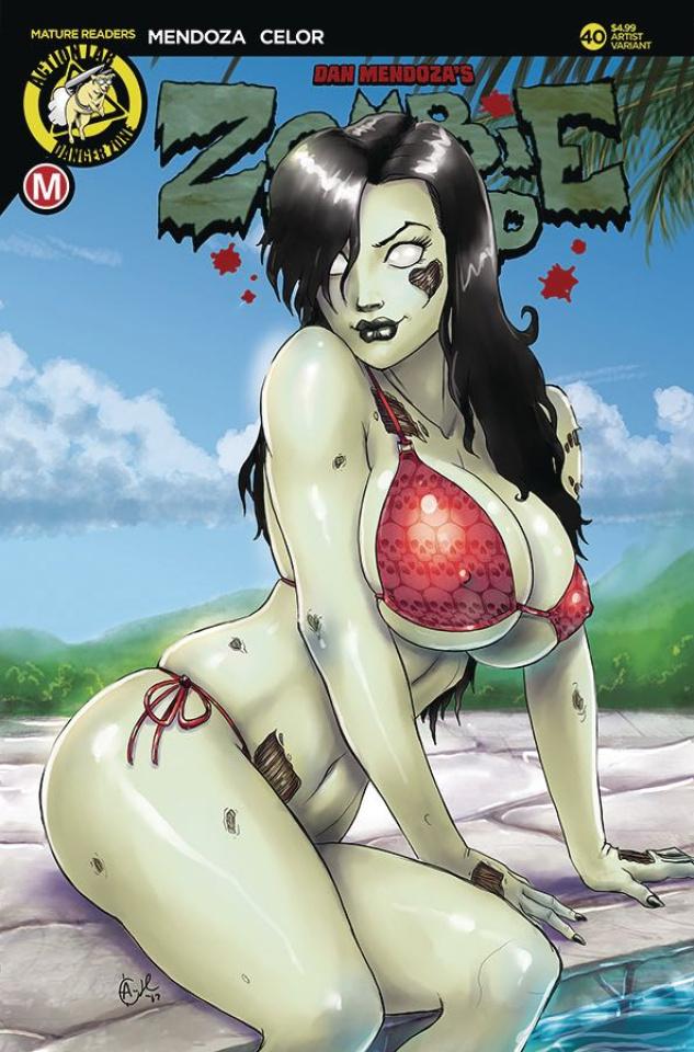 Zombie Tramp #40 (Harrigan Cover)