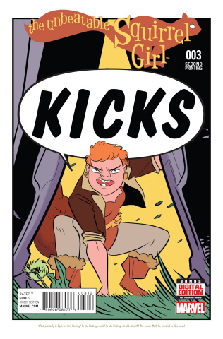 The Unbeatable Squirrel Girl #3 (Henderson 2nd Printing)