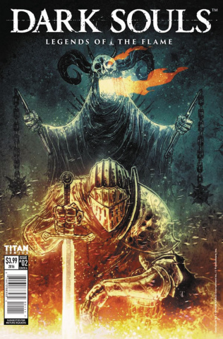 Dark Souls: Legends of the Flame #2 (Templesmith Cover)