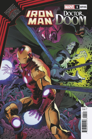 King in Black: Iron Man / Doctor Doom #1 (Mora Cover)