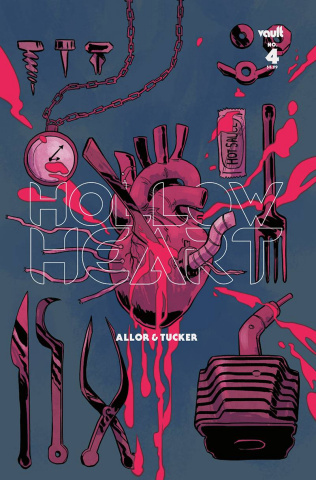 Hollow Heart #4 (Hickman Cover)