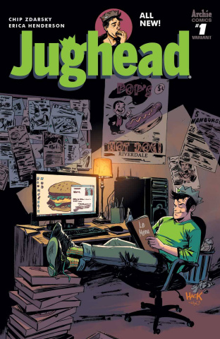 Jughead #1 (Hack Cover)