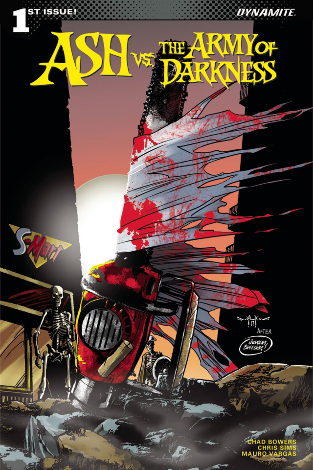 Ash vs. The Army of Darkness #1 (Qualano Cover)
