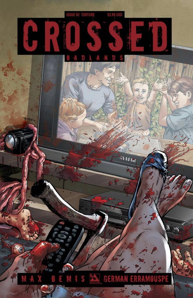 Crossed: Badlands #92 (Torture Cover)