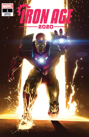 Iron Age: 2020 #1 (Rahzzah Cover)