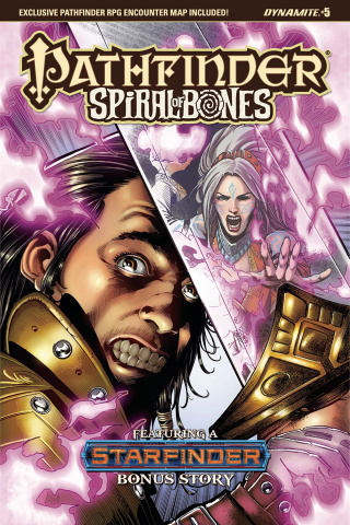 Pathfinder: Spiral of Bones #5 (Santucci Cover)