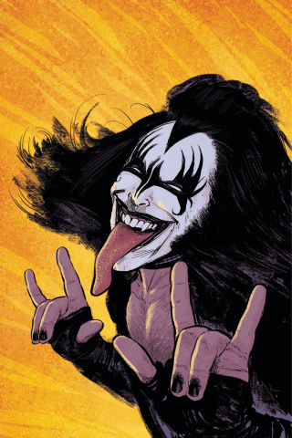 KISS: The Demon #1 (25 Copy Strahm Virgin Cover)