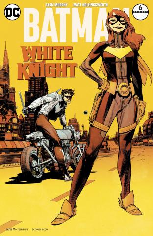 Batman: White Knight #6 (Variant Cover)