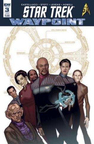 Star Trek: Waypoint #3 (Subscription Cover)