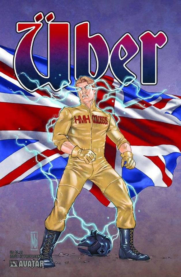 Über #6 (Propaganda Poster Cover)