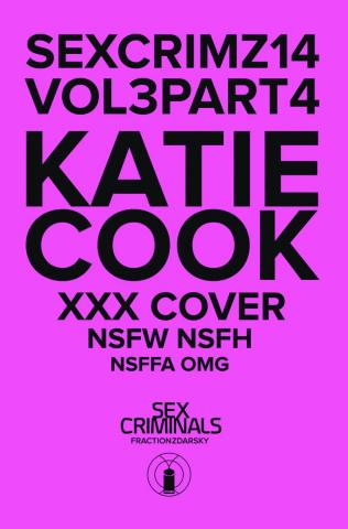 Sex Criminals #14 (Katie Cook XXX Cover)