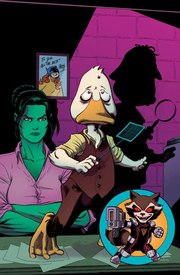 Howard the Duck #4 (McGuinness Cover)