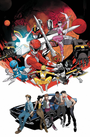 Go, Go, Power Rangers! Back To School #1