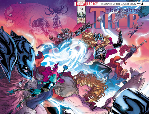 The Mighty Thor #700: Legacy