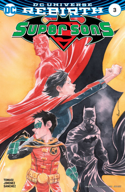 Super Sons #3 (Variant Cover)