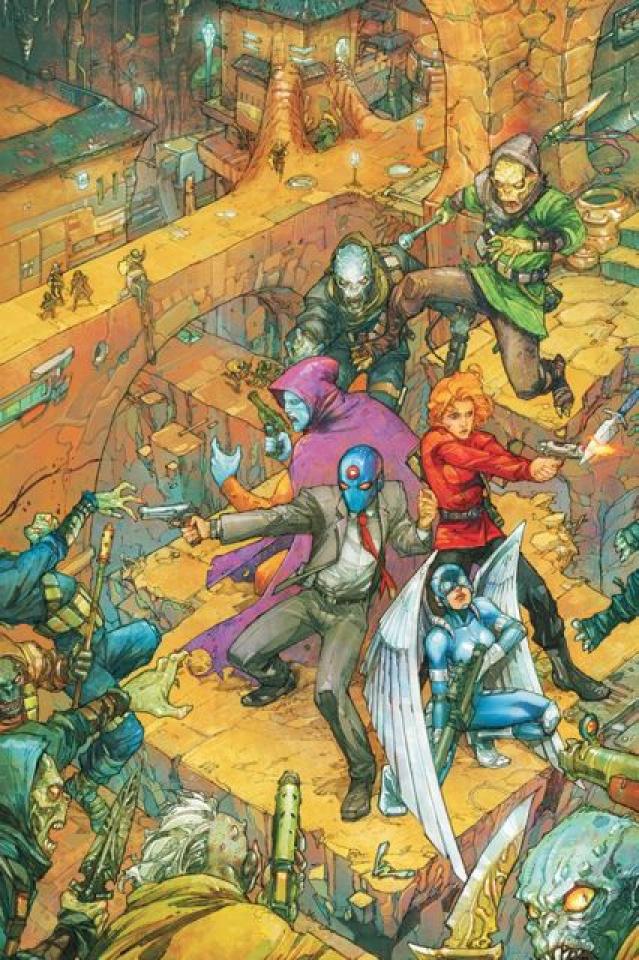 T.H.U.N.D.E.R. Agents #5