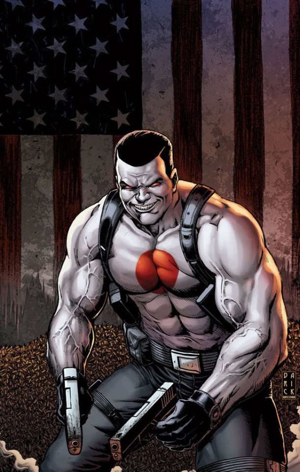 Bloodshot U.S.A. #2 (20 Copy Robertson Cover)
