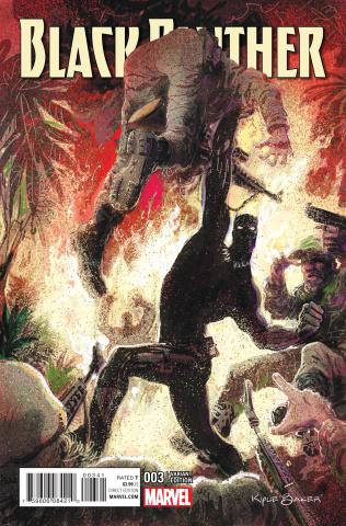 Black Panther #3 (Baker Cover)