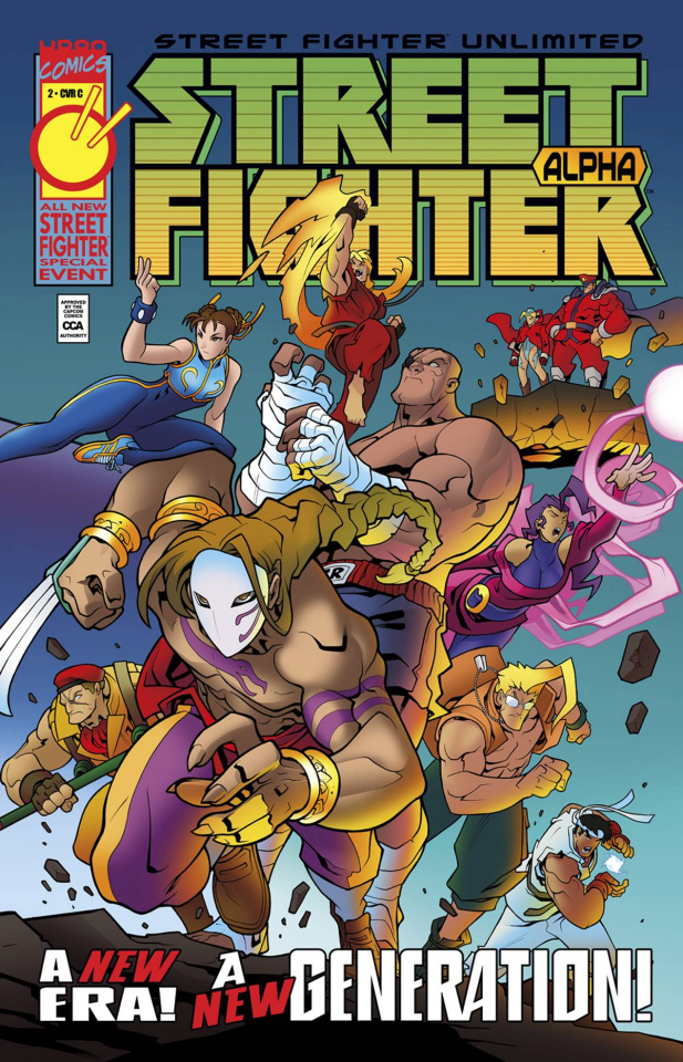 Street Fighter Unlimited #2 (10 Copy Homage Cover)