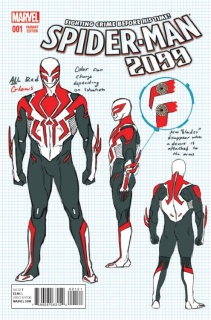 Spider-Man 2099 #1 (Anka Design Cover)