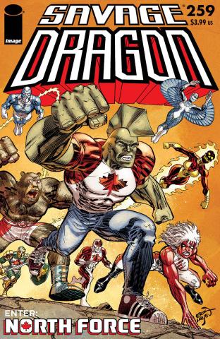 Savage Dragon #259 (Larsen Cover)