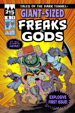 Freaks & Gods Giant Sized #1
