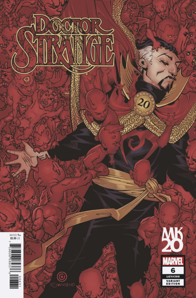 Doctor Strange #6 (Bachalo Cover)