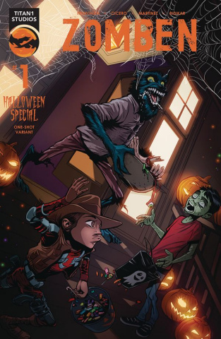Zomben Halloween Special #1 (Variant Cover)