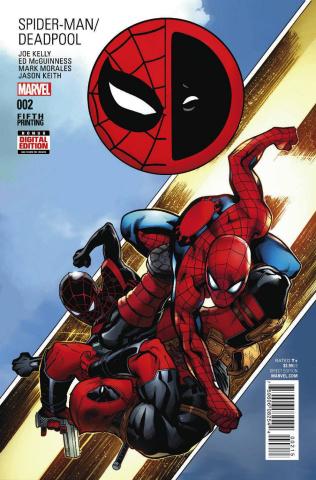 Spider-Man / Deadpool #2 (McGuinness 5th Printing)