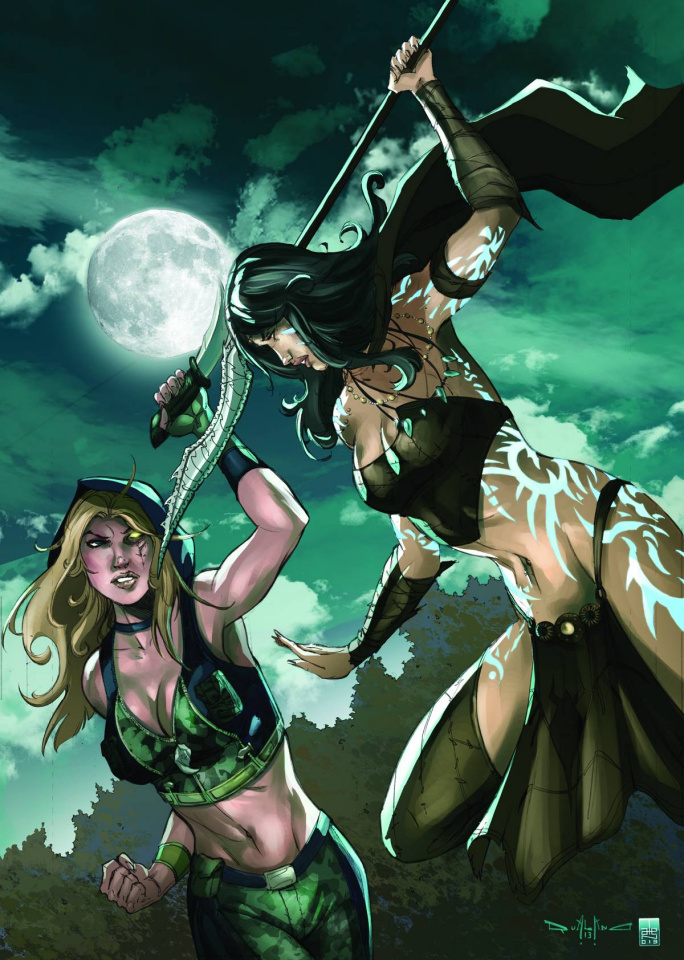 Grimm Fairy Tales: Robyn Hood - Age of Darkness (Qualano Cover)