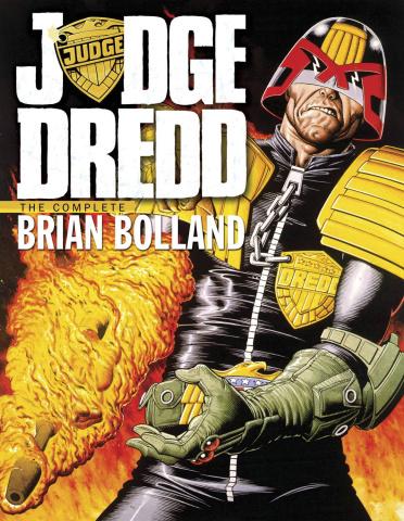 Judge Dredd: The Complete Brian Bolland