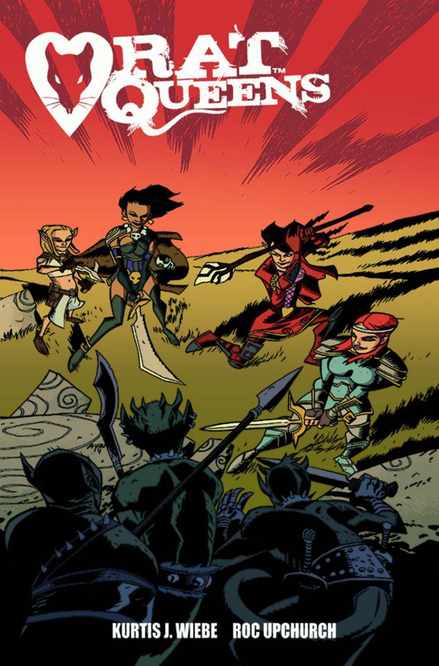 Rat Queens #8 (Oeming Cover)