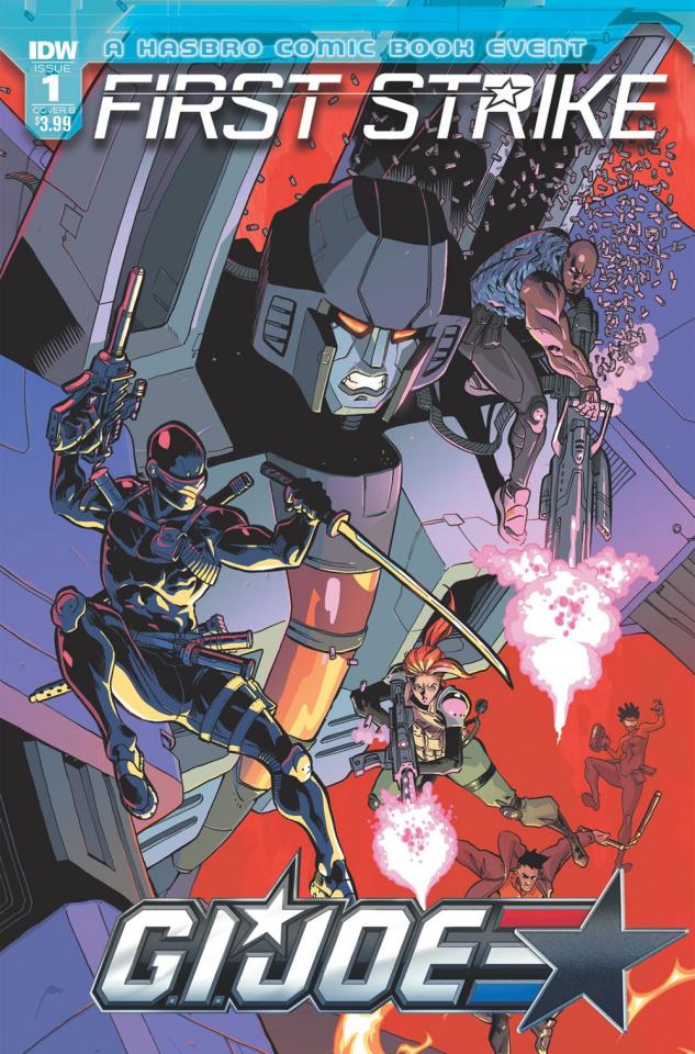 G.I. Joe: First Strike #1 (Kyriazis Cover)