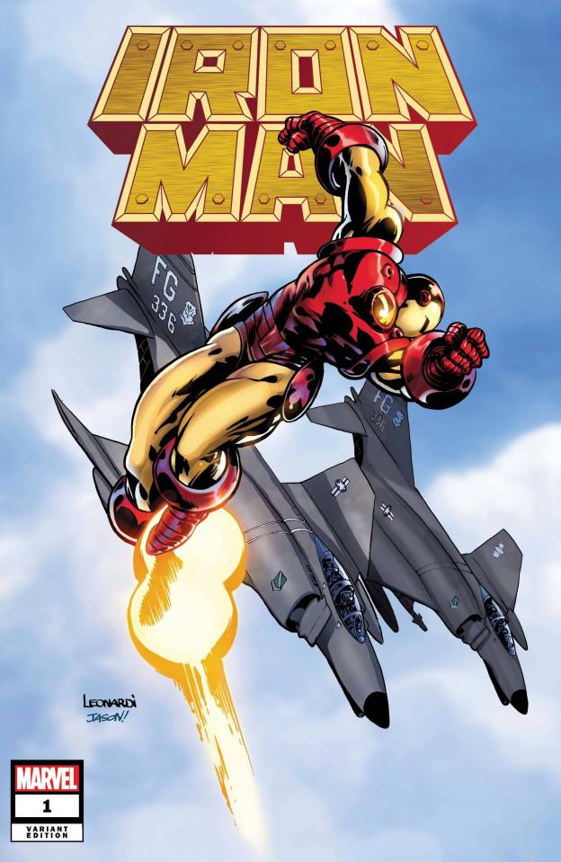 Iron Man #1 (Leonardi Hidden Gem Cover)