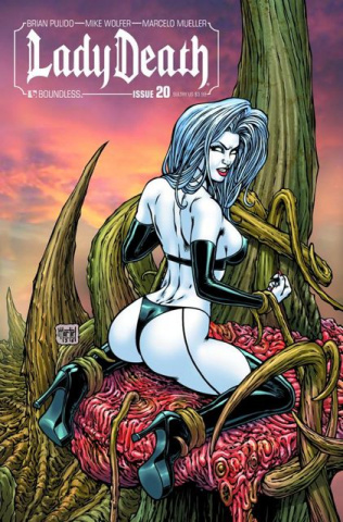 Lady Death #20 (Sultry Cover)