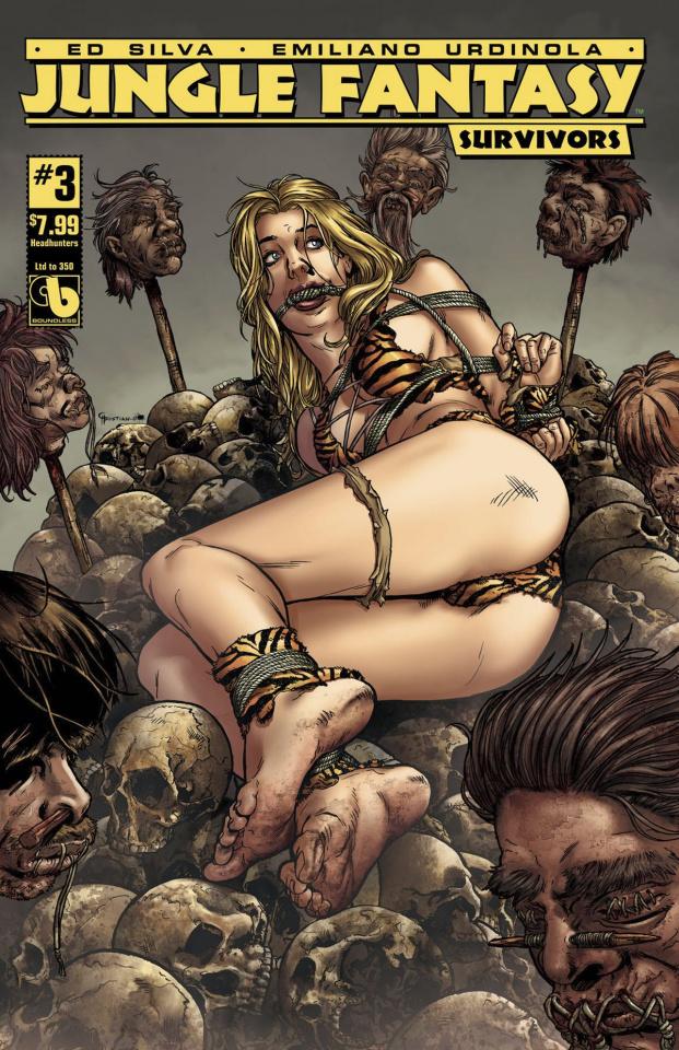 Jungle Fantasy: Survivors #3 (Head Hunters Cover)